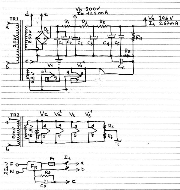Schema Elettrico Amplificatore Per Basso : Costruire un amplificatore valvolare schemi