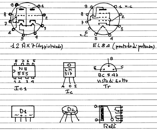 Schemi Elettrici Hi Fi : Costruire un amplificatore valvolare schemi
