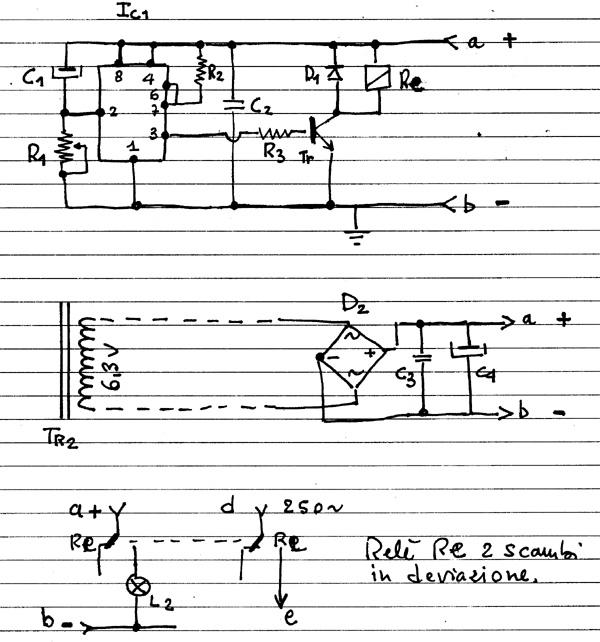 Schema Elettrico Orologio Temporizzatore : Costruire un amplificatore valvolare schemi